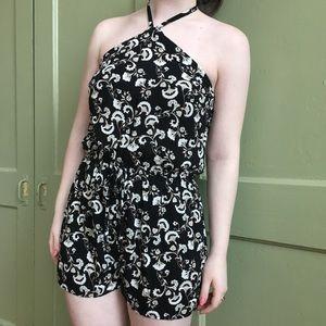 Dresses & Skirts - HALTER NECK CAPE JUBY ROMPER ♤